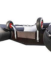 Колеса транспортировочные транцевые СК оцинкованные быстросъёмные, фото 3