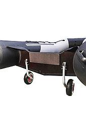 Колеса транспортировочные транцевые СК оцинкованные быстросъёмные, фото 2