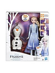 Hasbro Disney Princess Эльза и Олаф Холодное сердце 2