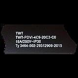 Вертикальный блок розеток, 4xC19 + 20xC13, 250V, 16A, A/V-метр, шнур 3 метра, вилка C20, фото 3