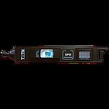 Вертикальный блок розеток, 4xC19 + 20xC13, 250V, 16A, A/V-метр, шнур 3 метра, вилка C20, фото 2