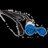 Шнур питания C20-I309 Female, 3х2.5, 220В, 16А, 2.5 метра, фото 2
