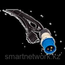 Шнур питания C19-I309 Male, 3х2.5, 220В, 16А, 2.5 метра