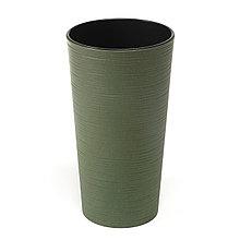 Горшок для цветов Lilia Lamela ЭКО 300 Dluto - лесной зеленый