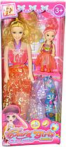 518A- Кукла с ребенком и расчекой 13*33