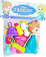 ZD893-19ABCD Холодное сердце Dream Fashion фен набор 25*20см, фото 1