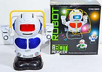 58653 Робот прыгает через скакалку Rope skippin Robot 15*14см