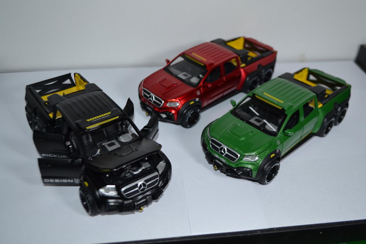 М306 Мерс Mercedes-Benz X-Class EXY пикап 6 колес
