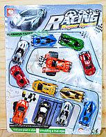 399-67B Машинки 12шт на ралли дороге Racing Super speed 39*29cv