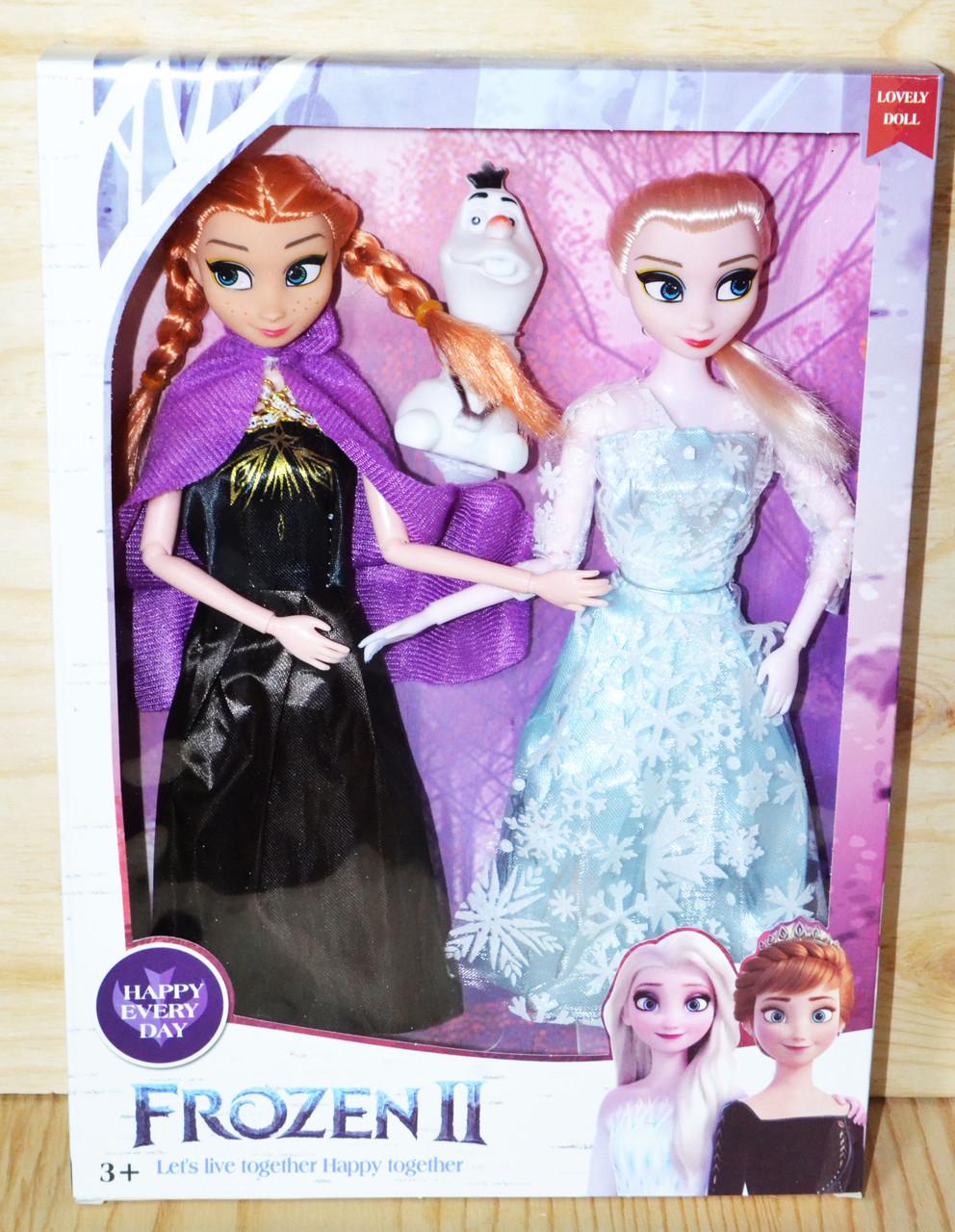TT294 Анна и Эльза Frozen 2 32*23см