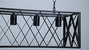 Люстра Лофт H 06/4 BK, фото 2