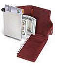 """Кожаный бокс для кредитных карт """"Contacts""""- кардхолдер. RFID Protected. Картхолдер, фото 3"""