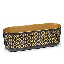 Цветник AZTEK Lamela 400 - к / чёрный + ж / светлое золото