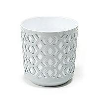 Горшок AZTEK Lamela 190 - светло-серый + светло-серый
