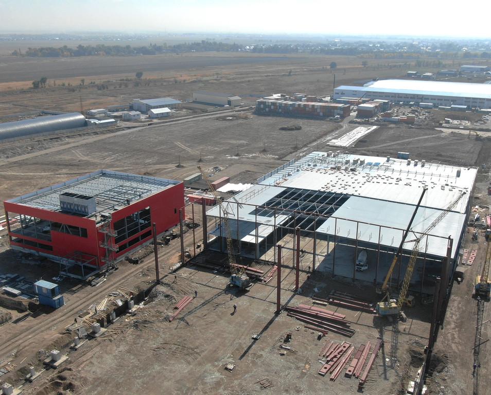 Завод по производству мороженого Шин-Лайн