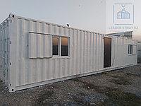 Прорабская из 40 футового жд контейнера, фото 1