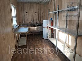 Жилой вагончик из двух 40 фут. контейнеров под Кухня (раздаточная и варочная)