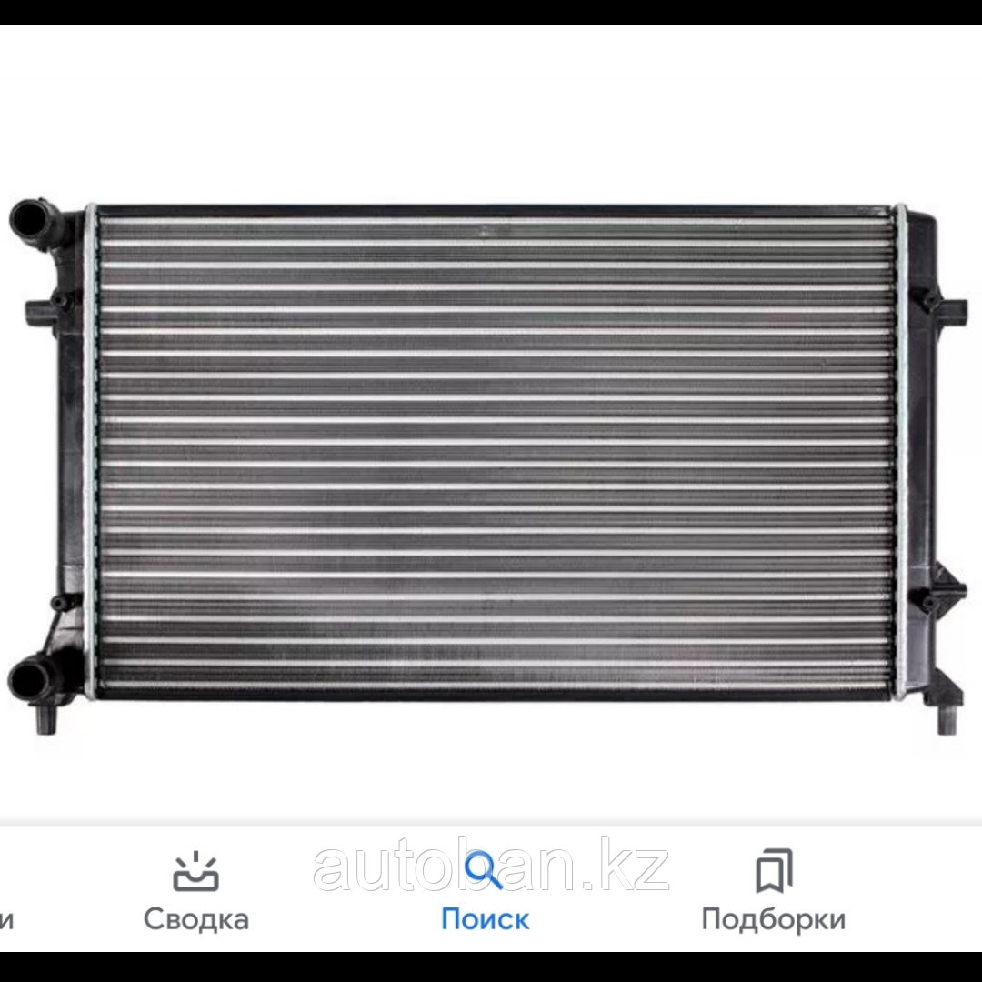Радиатор системы охлаждения Audi A3/Volkswagen Golf 5/Passat B6/Skoda Octavia A5/Jetta/Touran 03-
