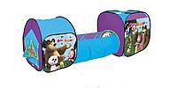Детская палатка с тоннелем Маша и Медведь
