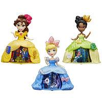 """Мини-кукла """"Принцесса Диснея"""" в платье с волшебной юбкой"""