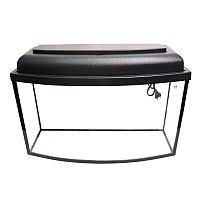 Аквариум телевизор 85 литров (гнутое стекло)