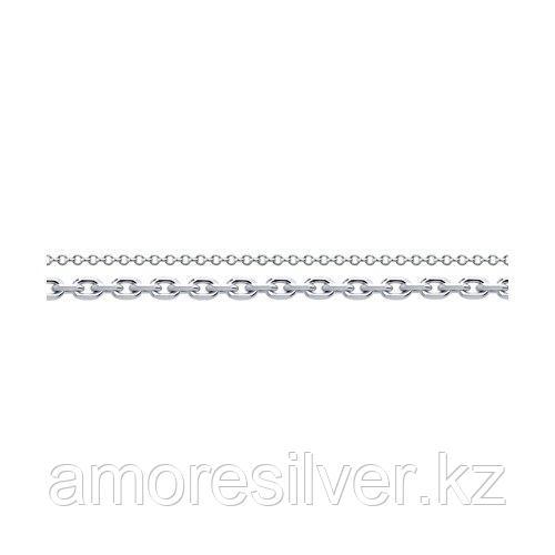 Браслет SOKOLOV серебро с родием, без вставок, фантазия 94050756 размеры - 16 18
