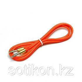 Кабель аудио Cablexpert CCA-3.5MM-1R, джек3.5 / джек3.5, красный 1м
