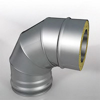 Отвод Термо (430, t0.5/ОЦ, t0,5) 90º d120/D200 (РАСТРУБ)