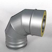 Отвод Термо (430, t0.5/ОЦ, t0,5) 90º d150/D200 (РАСТРУБ)