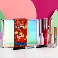Бьюти-бокс 'Merry Kissmas' (6 beauty-штучек для невероятного макияжа)