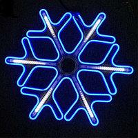 Светодиодная LED снежинка 60 см