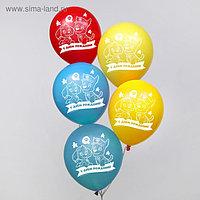 """Воздушные шары """"С Днем Рождения!"""", Щенячий патруль 12 дюйм (набор 50 шт)"""