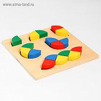 Развивающая головоломка «Собери фигурки» 21х21х4 см