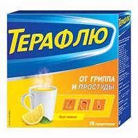 Терафлю от гриппа и простуды пак №10
