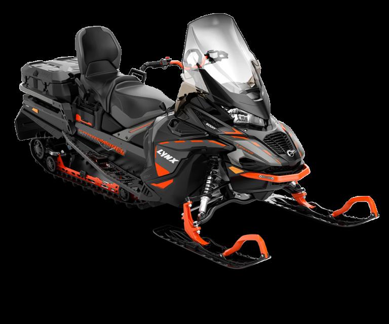 Снегоход Commander LTD 600 R E-TEC Черно-серый 2021