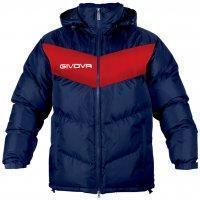 Куртка зимняя GIUBOTTO PODIO Сине-красный, XL