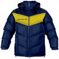 Куртка зимняя GIUBOTTO PODIO XS, Сине-желтый