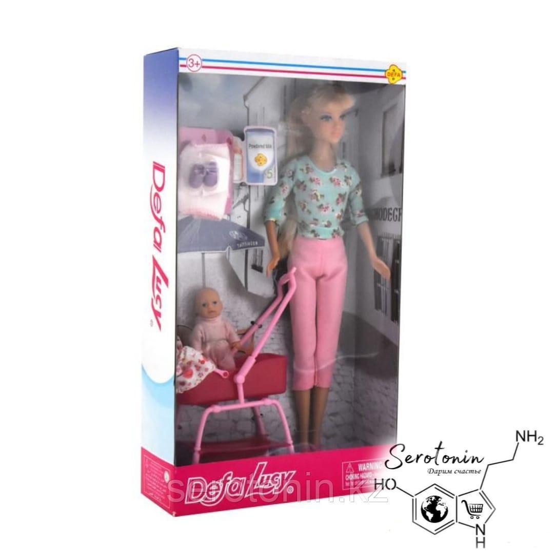 Кукла Defa Lucy Кукла с пупсом и аксессуарами - фото 2