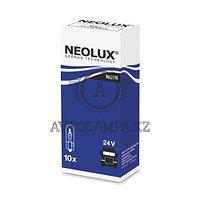Лампа N508 W2x4.6d 24V (1.2W стандарт картонная коробка) (в упаковке 10шт, цена за 1шт)