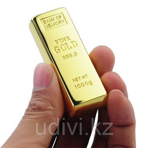 Флешка Золотой слиток 8 Gb