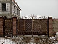 Изготовление металлических ворот, заборов