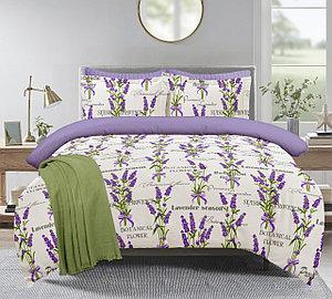 """Комплект постельного белья """"Лаванда сирень"""" 1,5 спальный"""