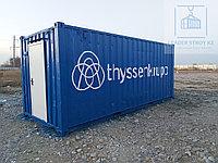 Складской контейнер из 20 фут. контейнера (Мастерская), фото 1
