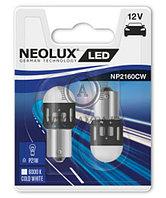 NP2160CW-02B Лампа P21W (1.2W LED Двойной блистер) Neolux
