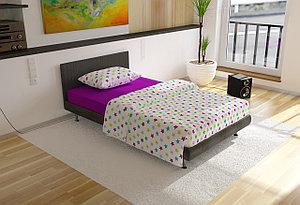 """Комплект постельного белья """"Звездочки"""" 1,5 спальный"""