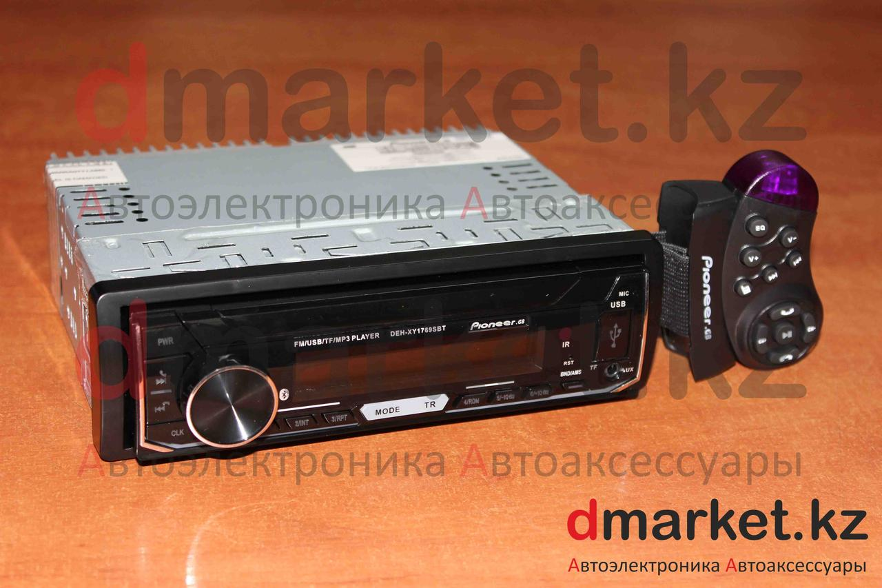 Автомагнитола 1DIN DEH-1769SBT, радио, MP3, Bluetooth, AUX