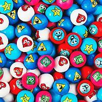 Жев. резинка Zed Candy «Озорная геометрия» Диаметр 22 мм., фото 1