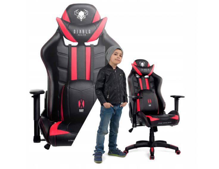 Кресло геймерское игровое компьютерное DIABLO X-RAY GAMING
