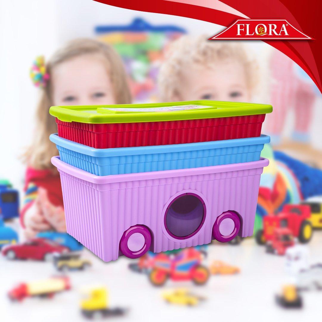 Органайзер для игрушек Турция 40 лит пластик - фото 1