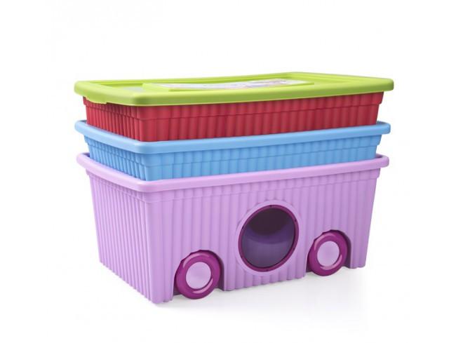 Органайзер для игрушек Турция 40 лит пластик - фото 3